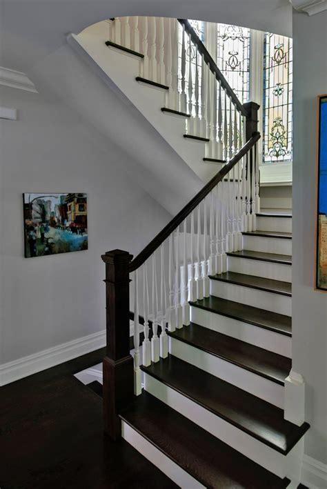black staircase black and white staircase decor pinterest