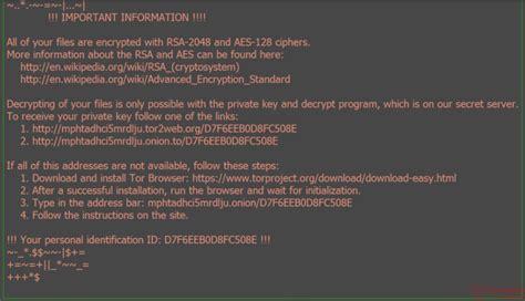 Letter Virus Zepto Ransomware Virus Removal Comment Forum Sur La S 233 Curit 233 Pc Et La Technologie