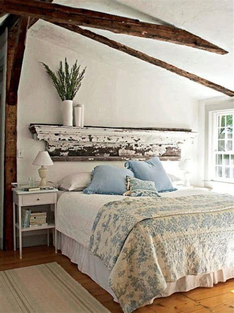 holzbalken le fr 252 hlingsdeko im schlafzimmer 44 wundervolle ideen