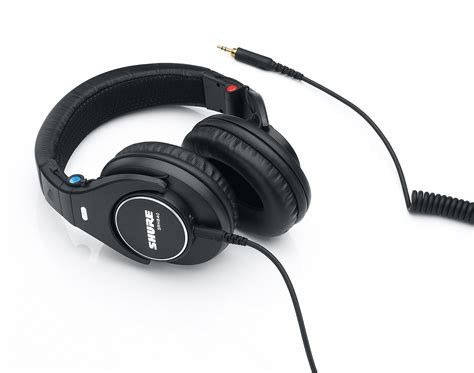 Shure Headphone Srh440 Black shure srh840 professional monitoring