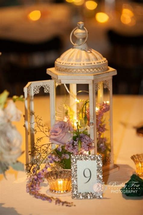 wedding centerpieces with flowers and lanterns 2 35 chic lantern wedding centerpieces happywedd