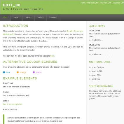 Free Website Template Editor 28 Images Joomla Template Editor 187 Quantumrealms 10 Best Free Website Template Editor