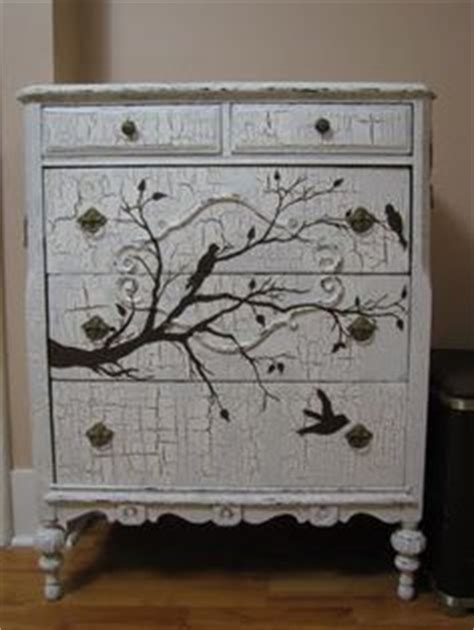 Crackle Paint Dresser by 1000 Images About Furniture Refinishing On