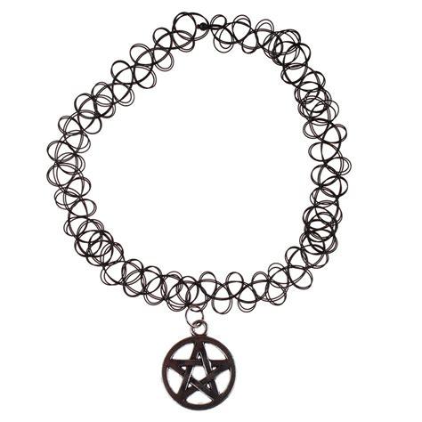 black tattoo choker necklace black choker stretch necklace retro vintage elastic
