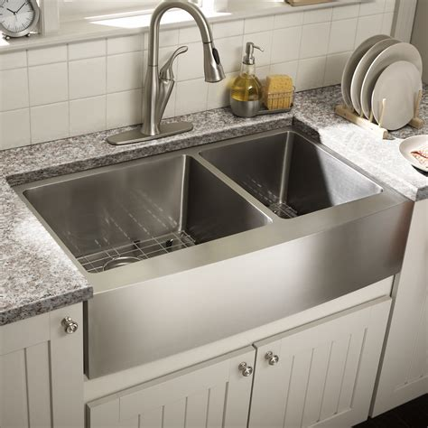 Kitchen With Farm Sink by Schon Farmhouse 36 Quot X 21 25 Quot Undermount Bowl