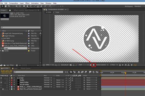 membuat video effect cara membuat background video transparan di after effects