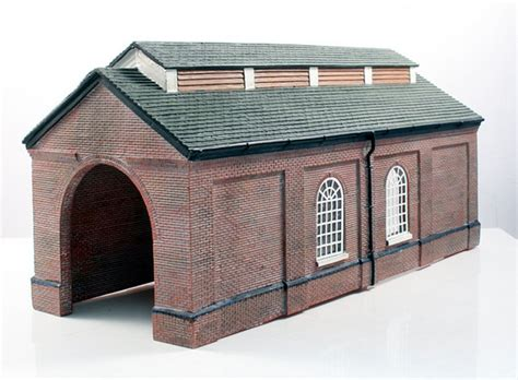 Bachmann 4 Road Engine Shed by Bachmann Scenecraft Oo Single Road Engine Shed Ebay