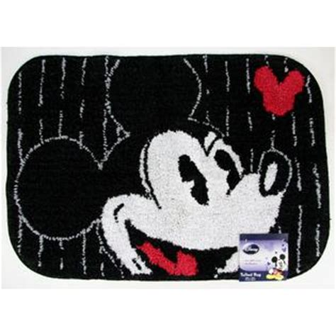 Mickey Mouse Bathroom Rug Disney Bath Rug Mickey Tuxedo