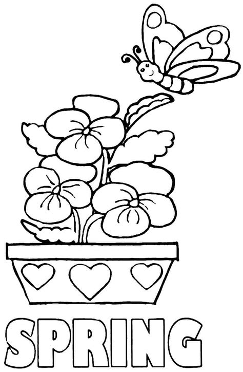 spring coloring pages for kindergarten free coloring pages spring season az coloring pages