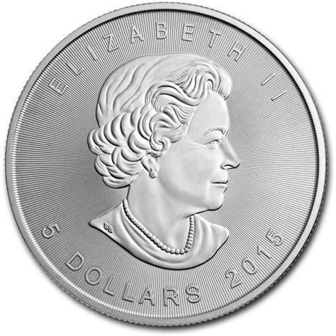 1 Oz 2015 Canadian Maple Leaf Silver Coin - 2015 canada 1 oz silver maple leaf legacy coins