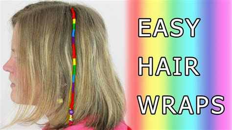 how to wrap hair with weave diy learn how to make hair wrap wraps braid floss