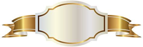 gold banner vector png theveliger