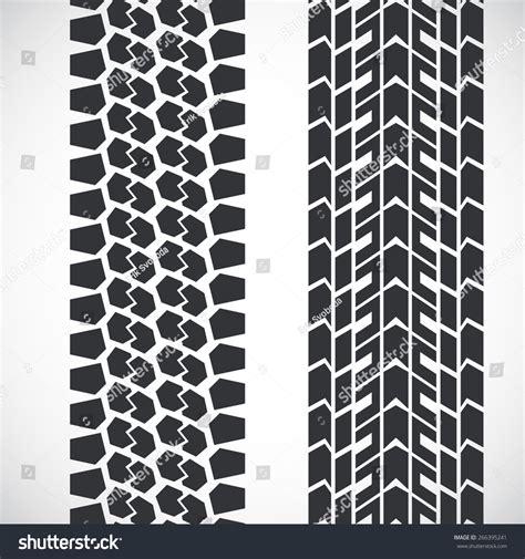 tread pattern en français tread pattern tyre vector set detailed stock vector