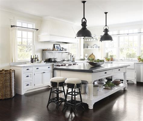 cottage style kitchen island cottage style kitchens traditional home