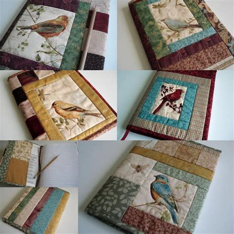 pattern for quilted notebook cover quilted journal cover journal covers journal and