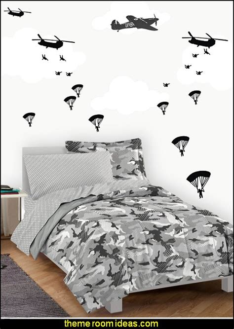 camo bedroom walls decorating theme bedrooms maries manor army theme