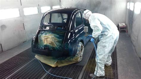 carrozziere verniciatore verniciatura fiat 500l carrozzeria gottardo