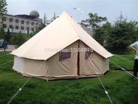 danchel waterproof 4m bell tent canvas yurt tent canvas