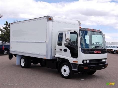 white 2004 gmc w series truck w4500 commercial moving