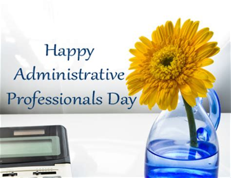 yellow sticky note and cork board administrative professionals day