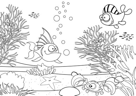 Pond Ecosystem Coloring Page Coloring Pages Ecosystem Coloring Pages