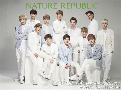 wallpaper exo nature republic official pictures of exo for nature republic released