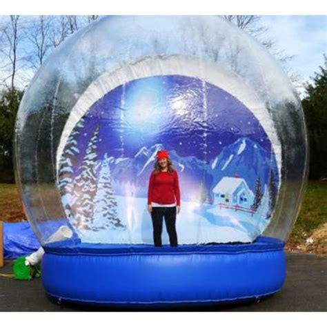 process of manufacturing snow globe human 4m snow globe