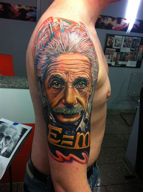 roman tattoo artist albert einstein 171 project