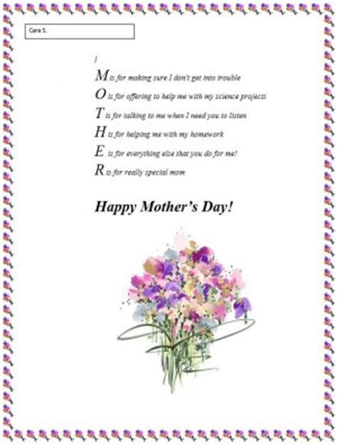 Zulu Poems For Mothers Day 2nd Grade Quotes Quotesgram