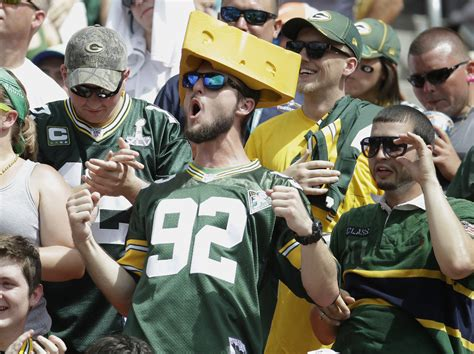 green bay packers fans american football kicks soccer to the curb all about america