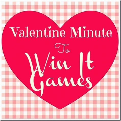 minute to win it valentines minute to win it lou lou