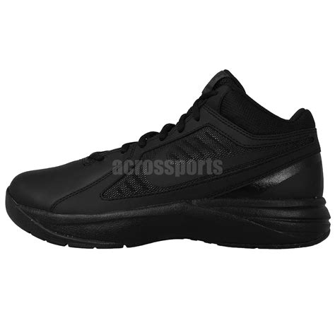 mens wide width basketball shoes nike the overplay viii 8 wide width blackout mens