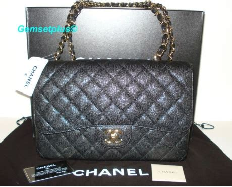 Conrad Puts Away The Chanel For Minkoff by Conrad Style Chanel Classic Jumbo In Black Caviar
