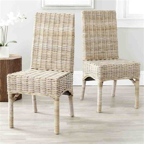 Dining Room Wicker Chairs White Wicker Dining Chairs Home Furniture Design