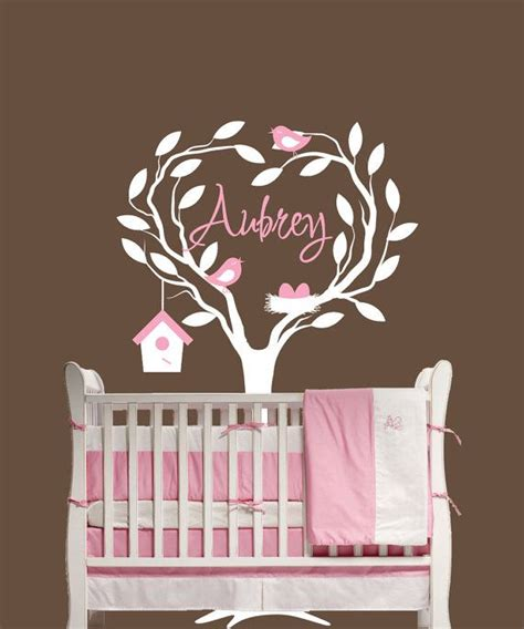Name Wall Decals For Nursery 16 Best Images About Wall Decorations On Pinterest Vinyl Decor Trees And Penguin Books
