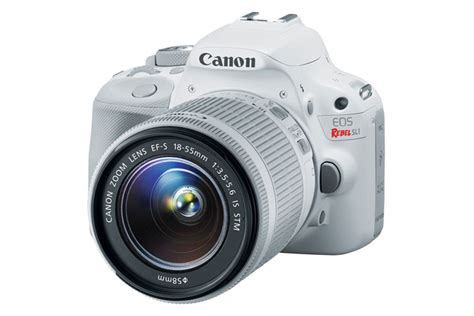 canon sl1 canon eos rebel sl1 ef s 18 55mm is stm kit white canon