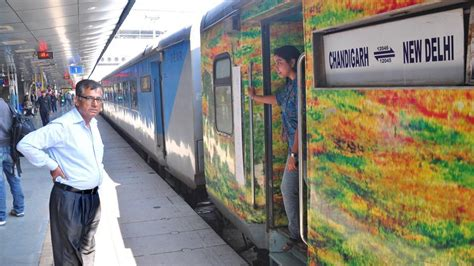 Soon, travel from Delhi to Chandigarh by semi-high speed ...