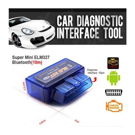 B20 Car Diagnostic Elm327 Bluetooth Obd2 V2 1 Automotive Test Tool mini elm327 bluetooth obd2 v2 1 car diagnostic interface tool blue