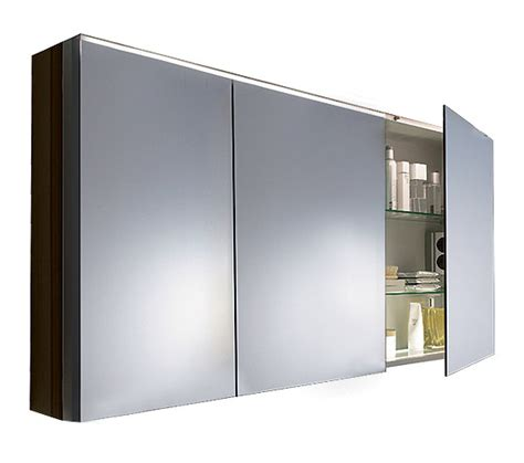 Mirrored Bathroom Cabinet With Shelves Duravit Fogo 1200mm 3 Door Mirror Cabinet Fo967801818