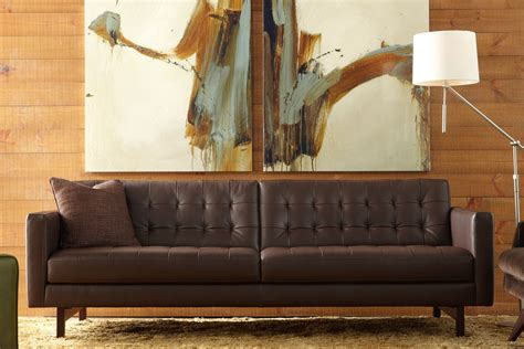 parker sofa american leather sofa contemporary and modern furniture metro detroit