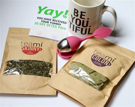 Teami Blends 30 Day Detox by Teami Blends A 30 Day Tea Detox Beyoutiful