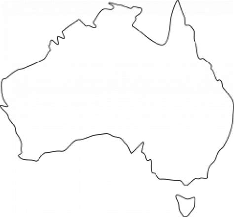 australia map template map of australia template 28 images template map of