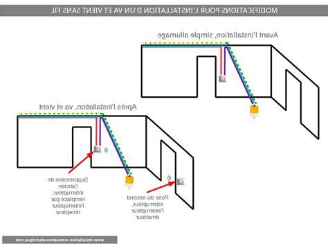 Interrupteur Sans Fil Va Et Vient 5522 by Installation Interrupteur Va Et Vient Maison Design