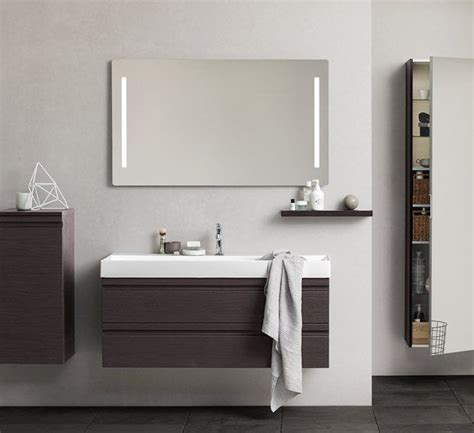 Canto 1200 basin vanity unit with integrated handles