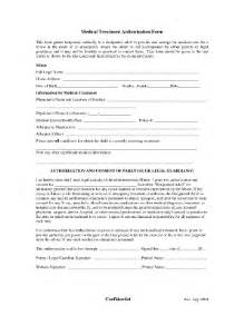 Medical Treatment Authorization Letter For A Minor Treatment Authorization Form Fill Online Printable