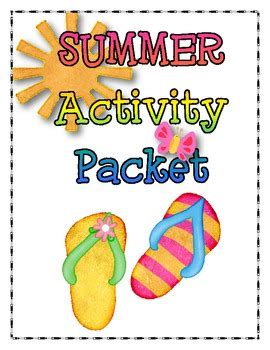 beach themed language arts activities summer language arts and math activity packet common core