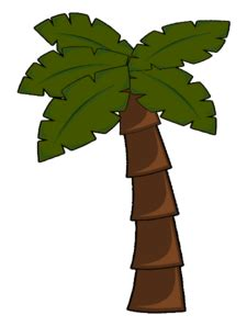 palm tree clip art  clkercom vector clip art