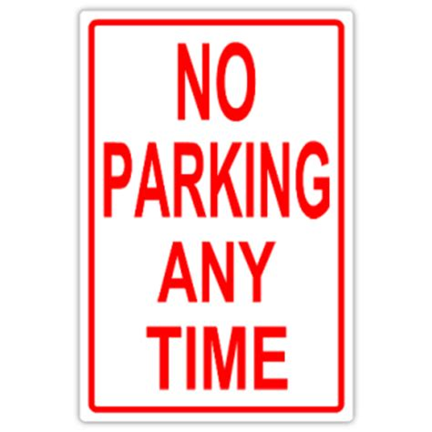 no parking signs template no parking 106 tow away parking sign templates