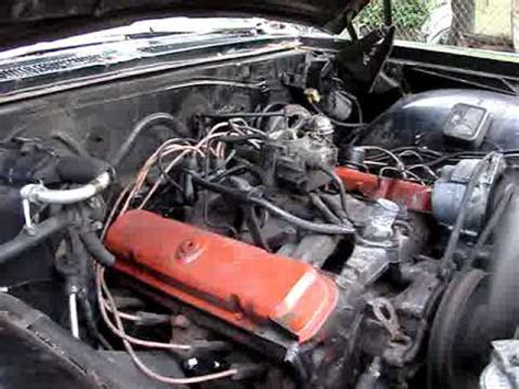how does a cars engine work 2007 pontiac vibe electronic valve timing 326 pontiac running engine youtube