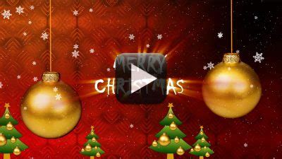 merry christmas greeting video   design creative